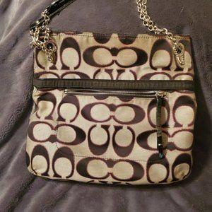COACH Duffle Crossbody/Shoulder Bag Black
